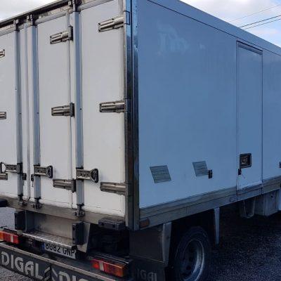 camion firgorifico pequeño alquiler